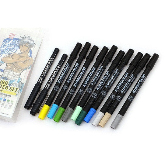 Kuretake Zig Cartoonist Manga Starter Set - Boy