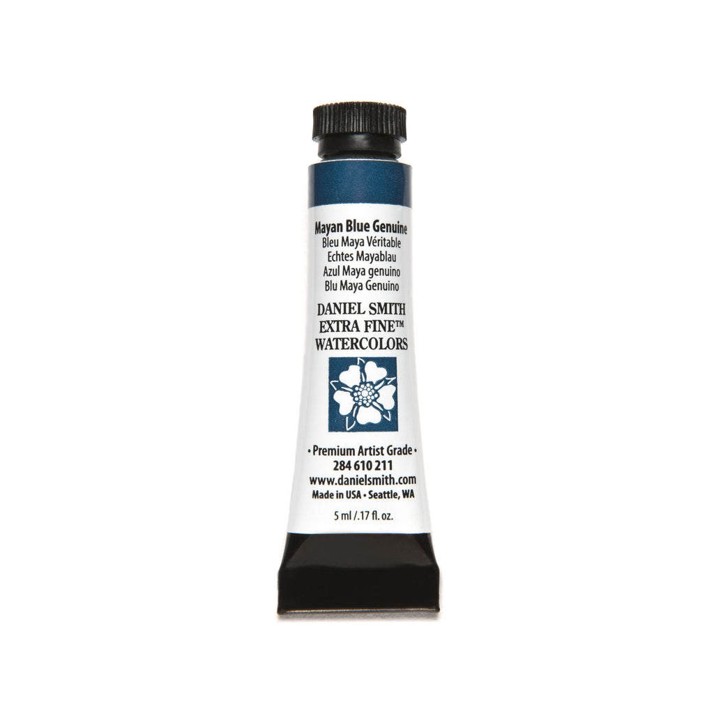 Daniel Smith PrimaTek Watercolor 5mL - Mayan Blue Genuine
