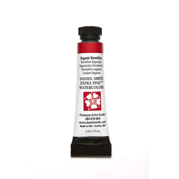 Daniel Smith Extra Fine Watercolor 5mL - Organic Vermilion