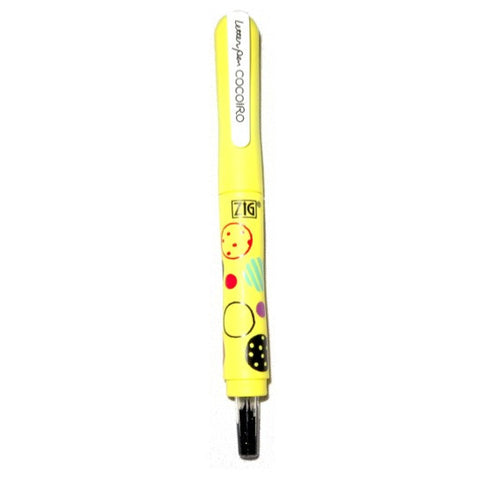 ZIG Limited Edition Cocoiro Letter Pen - P26S Circle - Yellow