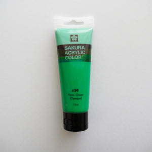 Sakura Acrylic Color 75mL - #29 Perm. Green