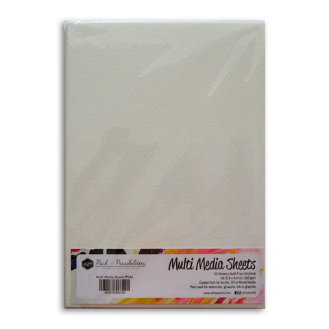 Pack of Possibilities Multimedia Sheets A5 White