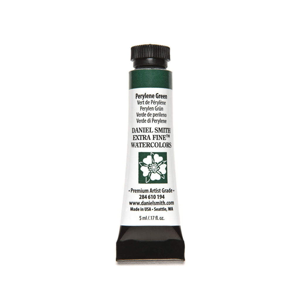 Daniel Smith Extra Fine Watercolor 5mL - Perylene Green