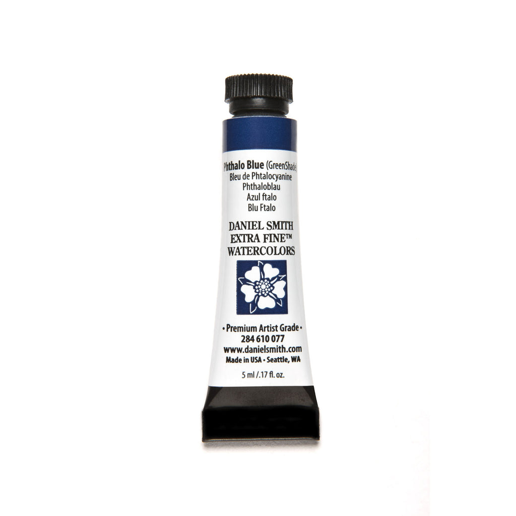 Daniel Smith Extra Fine Watercolor 5mL - Phthalo Blue (Green Shade)