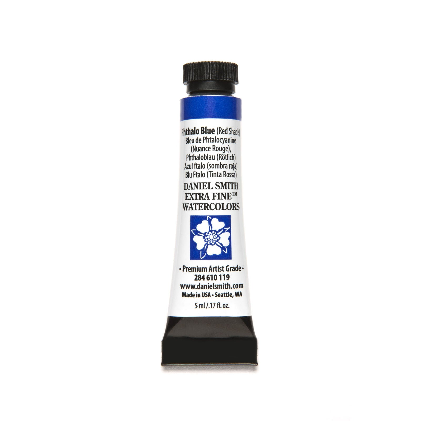 Daniel Smith Extra Fine Watercolor 5ml Phthalo Blue Red
