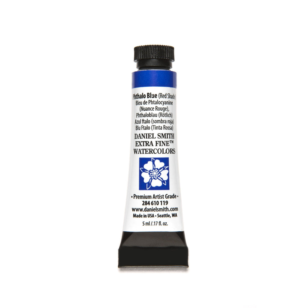 Daniel Smith Extra Fine Watercolor 5mL - Phthalo Blue (Red Shade)