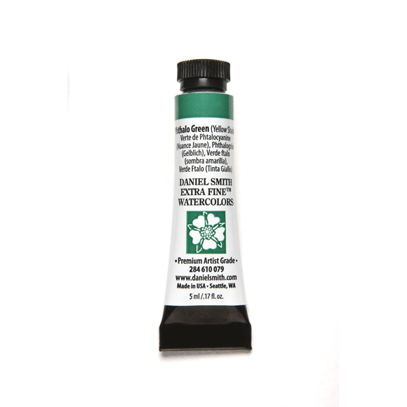 Daniel Smith Extra Fine Watercolor 5mL - Phthalo Green (Yellow Shade)