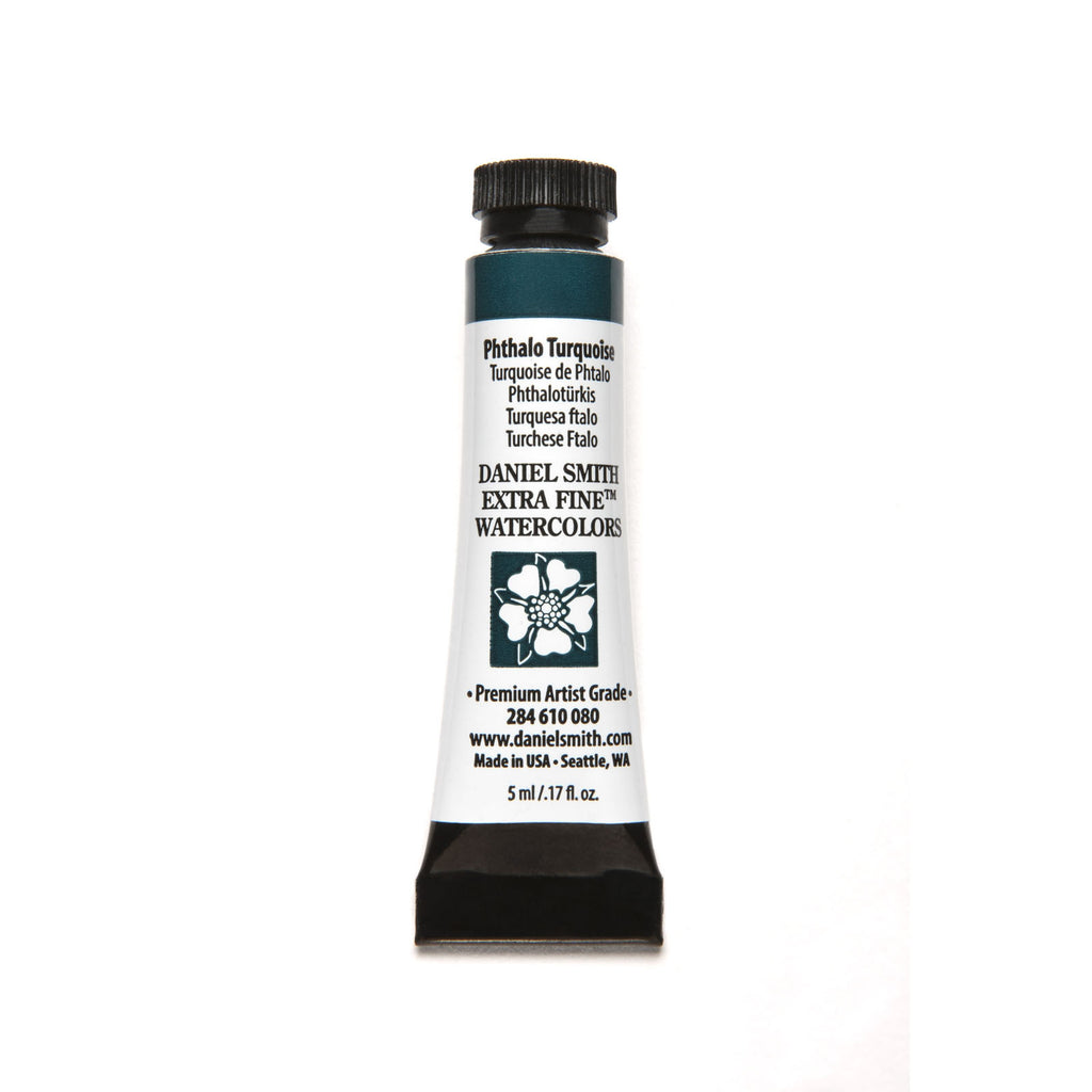 Daniel Smith Extra Fine Watercolor 5mL - Phthalo Turquoise