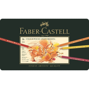 Faber-Castell Color Pencil Polychromos tin of 36