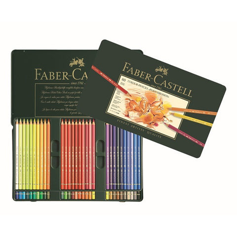 Faber-Castell Color Pencil Polychromos tin of 60