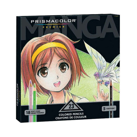 Prismacolor Manga Soft Core Pencils Set of 23