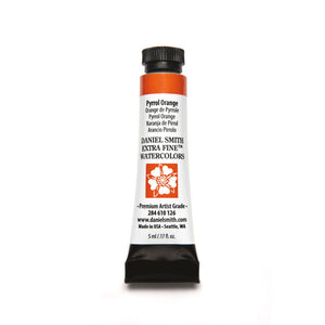 Daniel Smith Extra Fine Watercolor 5mL - Pyrrol Orange