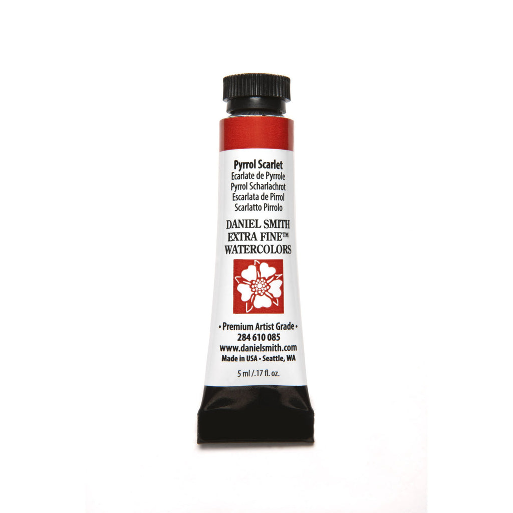 Daniel Smith Extra Fine Watercolor 5mL - Pyrrol Scarlet
