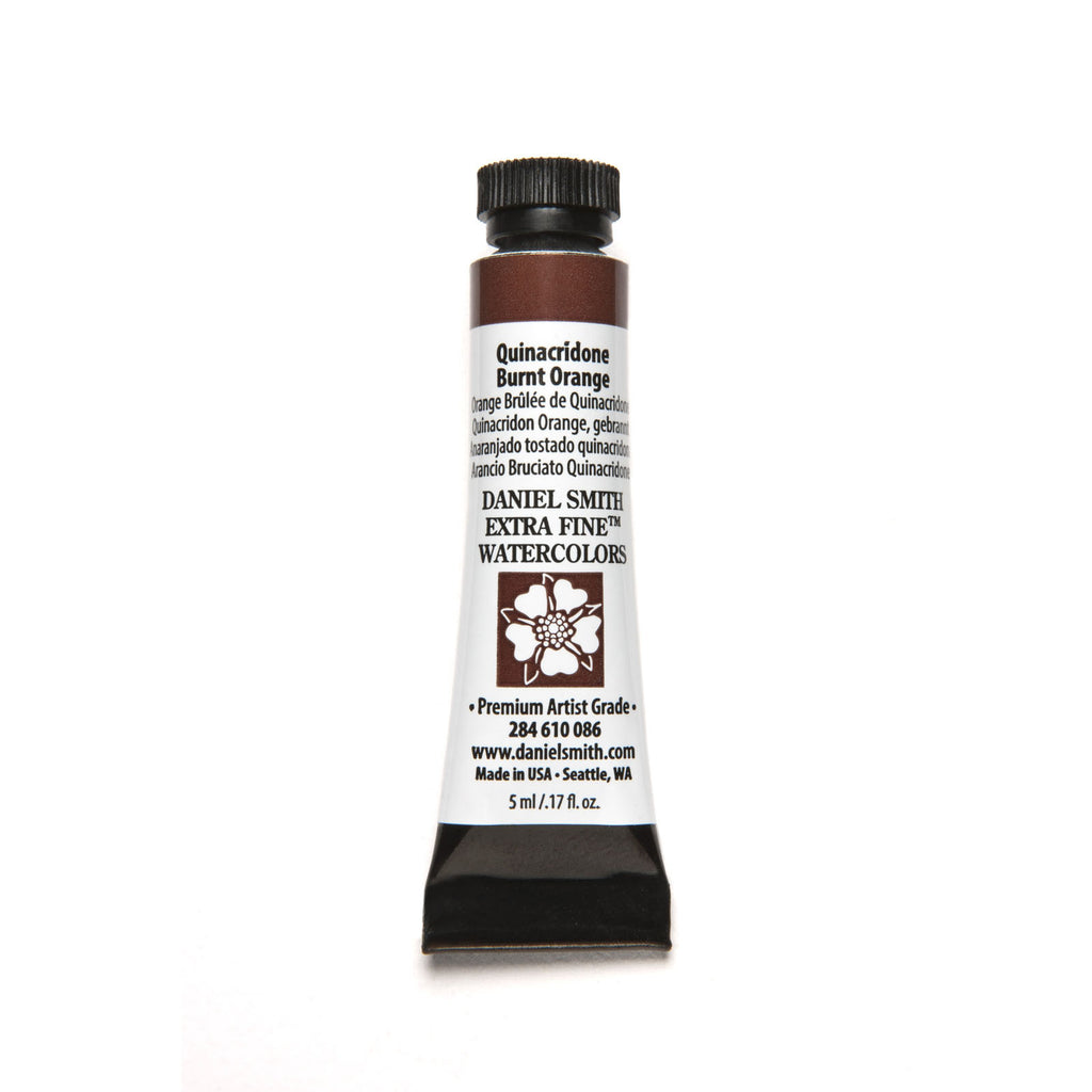 Daniel Smith Extra Fine Watercolor 5mL - Quinacridone Burnt Orange