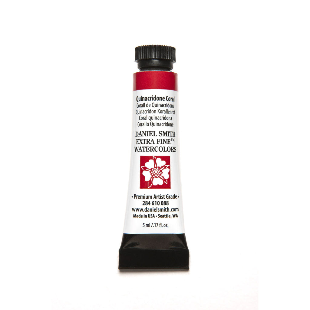 Daniel Smith Extra Fine Watercolor 5mL - Quinacridone Coral