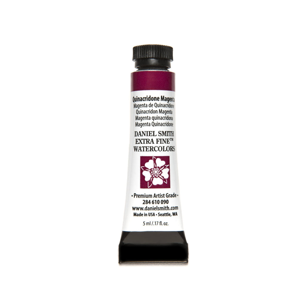Daniel Smith Extra Fine Watercolor 5mL - Quinacridone Magenta