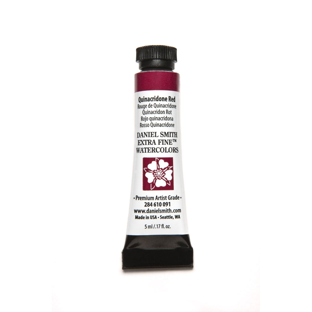 Daniel Smith Extra Fine Watercolor 5mL - Quinacridone Red