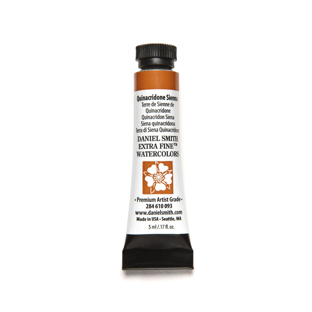 Daniel Smith Extra Fine Watercolor 5mL - Quinacridone Sienna