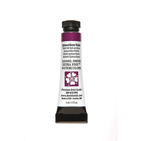 Daniel Smith Extra Fine Watercolor 5mL - Quinacridone Violet