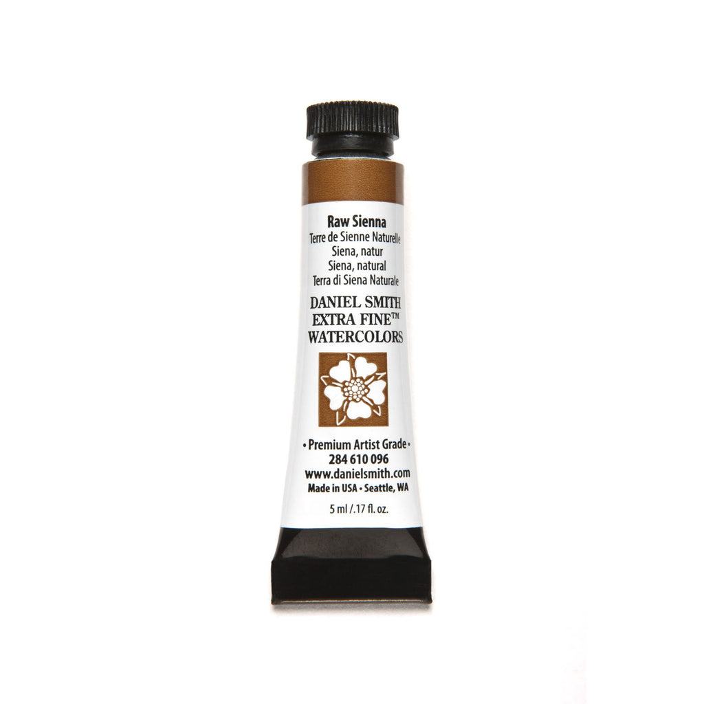 Daniel Smith Extra Fine Watercolor 5mL - Raw Sienna