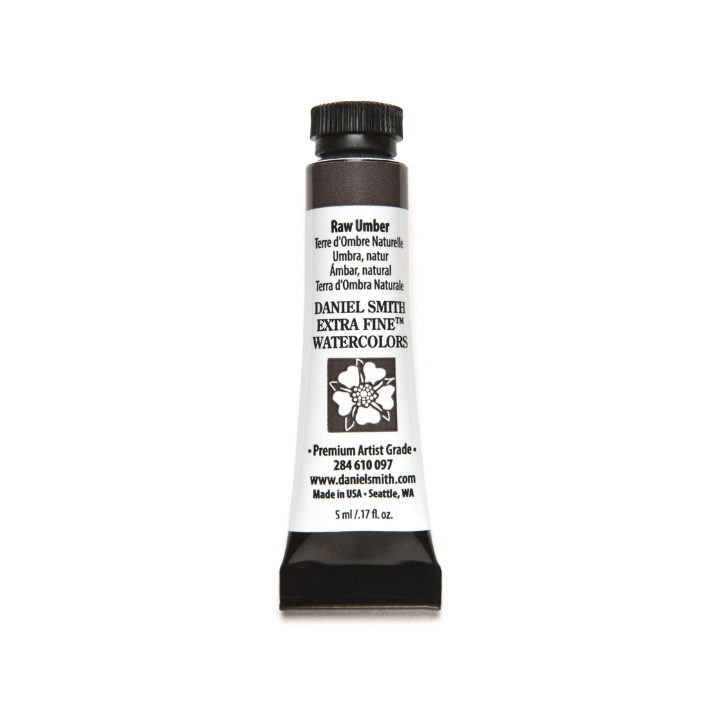 Daniel Smith Extra Fine Watercolor 5mL - Raw Umber