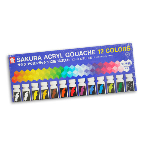 Sakura Acryl Gouache Set of 12
