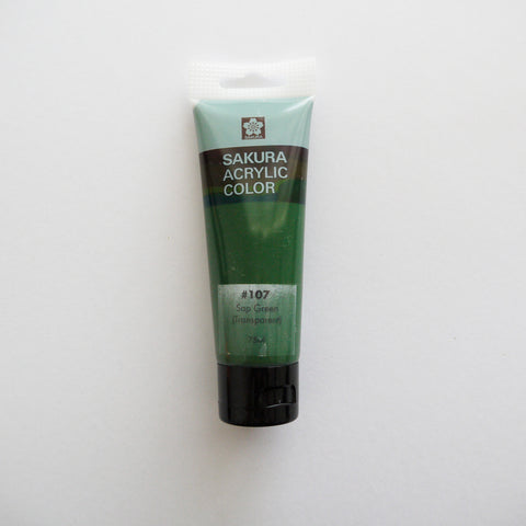 Sakura Acrylic Color 75mL - #107 Sap Green