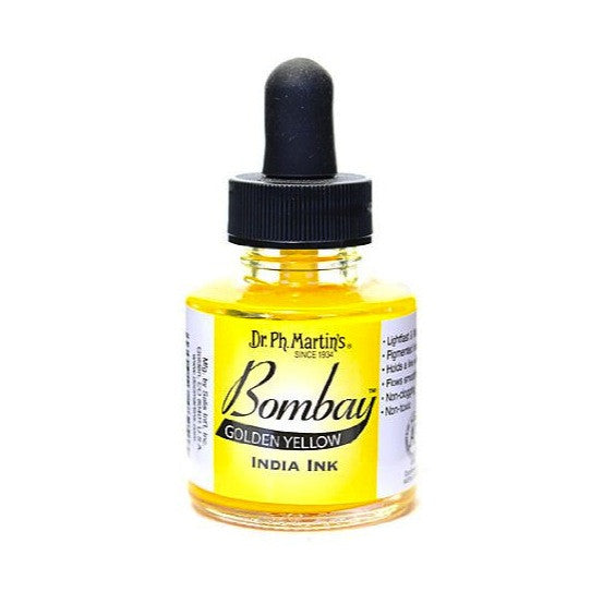 Dr. Ph. Martin's Bombay India Ink 30mL - 13BY Golden Yellow