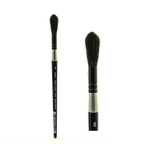 Silver Brush Black Velvet Brush - Jumbo Round Wash