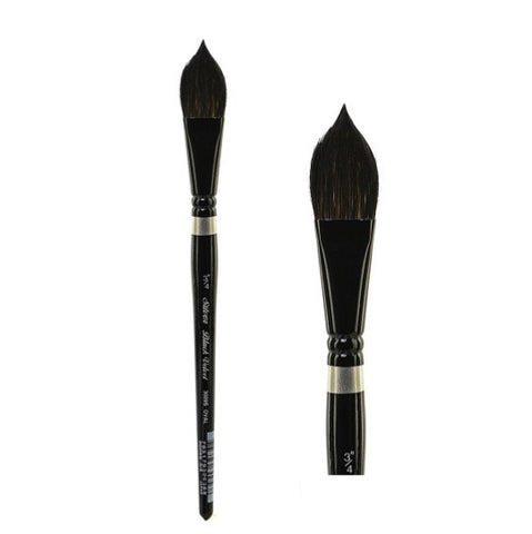 Silver Brush Black Velvet Brush - Oval Wash