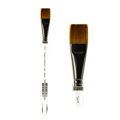 Silver Brush Golden Natural Brush - Square Wash