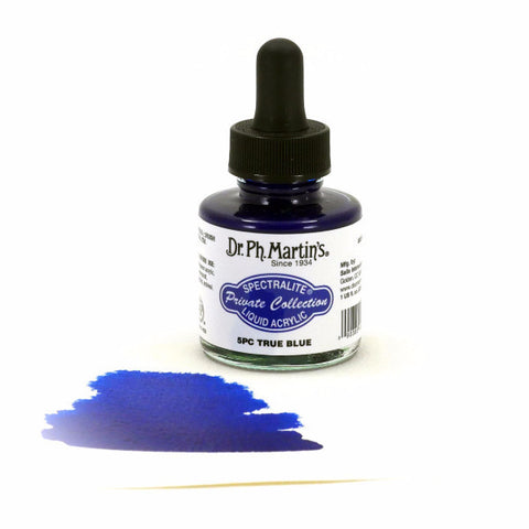 Dr. Ph. Martin's Spectralite Liquid Acrylic 30mL - 5PC True Blue