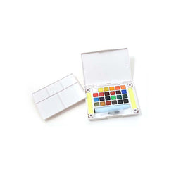 Sakura Koi Watercolor Pocket Field Sketch Box - 24 colors