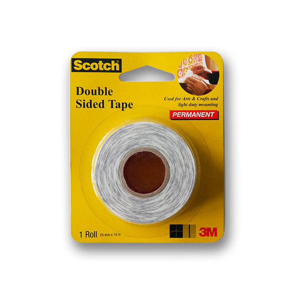 Scotch Double-Sided Tape 24mmx10m