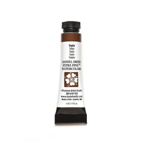 Daniel Smith Extra Fine Watercolor 5mL - Sepia