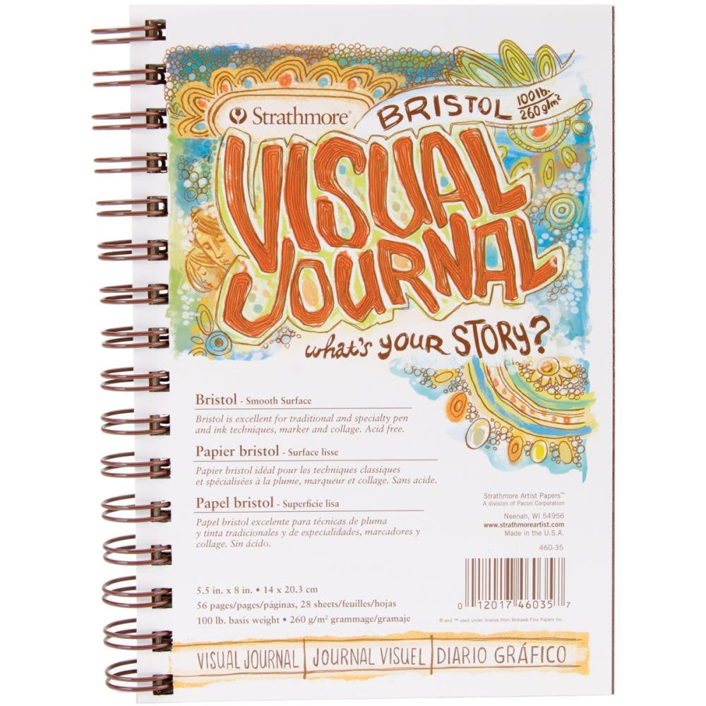 "Strathmore Visual Journal Bristol Smooth 5.5""X8"""