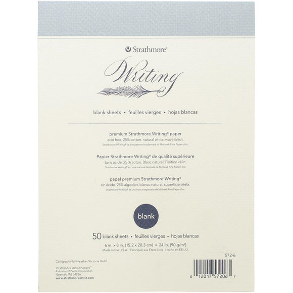 Strathmore Writing Pad Blank 6
