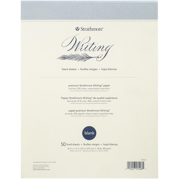 Strathmore Writing Pad Blank 8.5