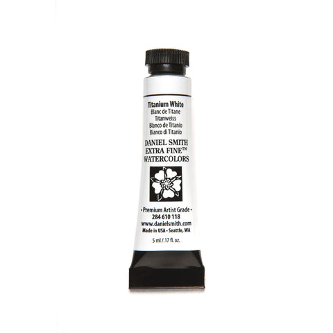 Daniel Smith Extra Fine Watercolor 5mL - Titanium White