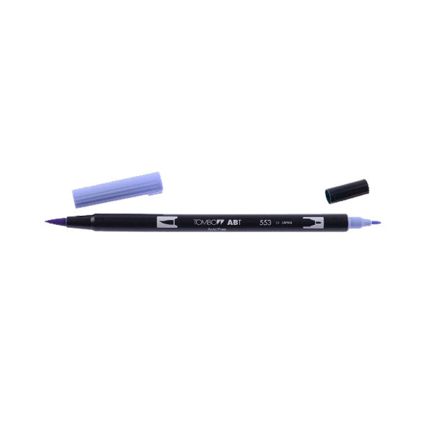 Tombow ABT Dual Brush Pen - 553 Mist Purple
