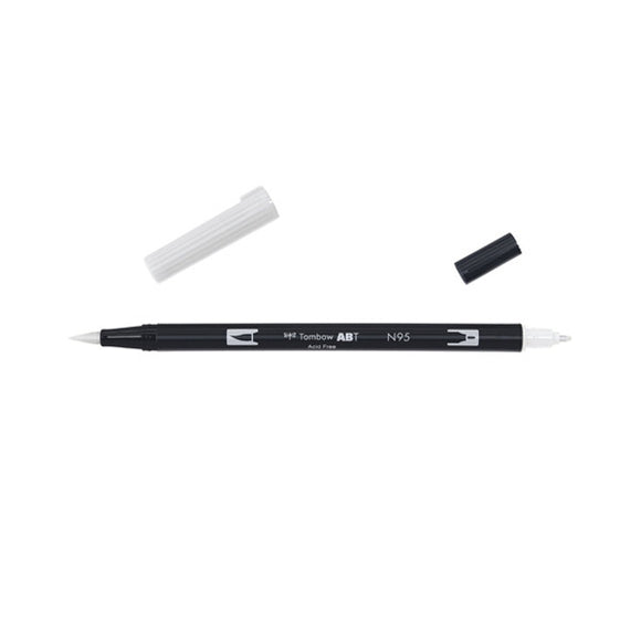 Tombow ABT Dual Brush Pen - N95 Cool Gray 1