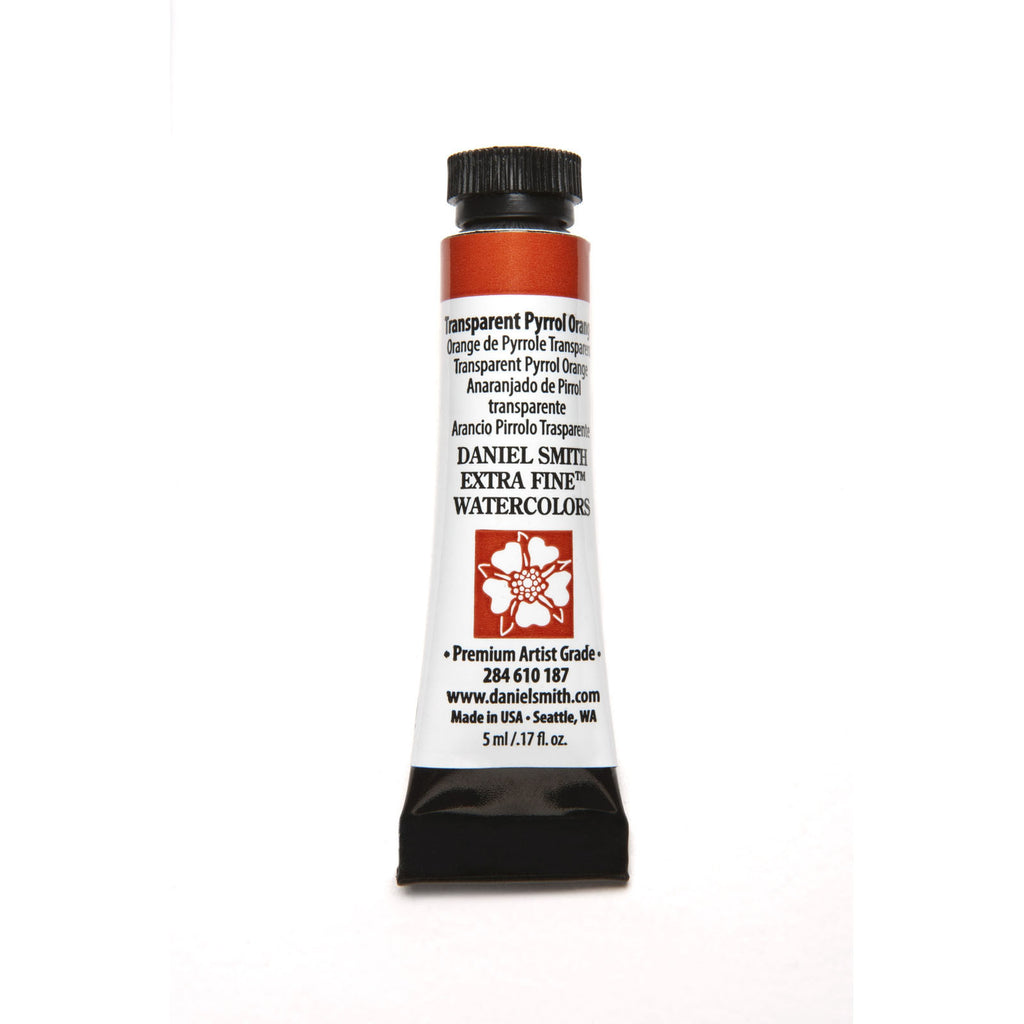 Daniel Smith Extra Fine Watercolor 5mL - Transparent Pyrrol Orange