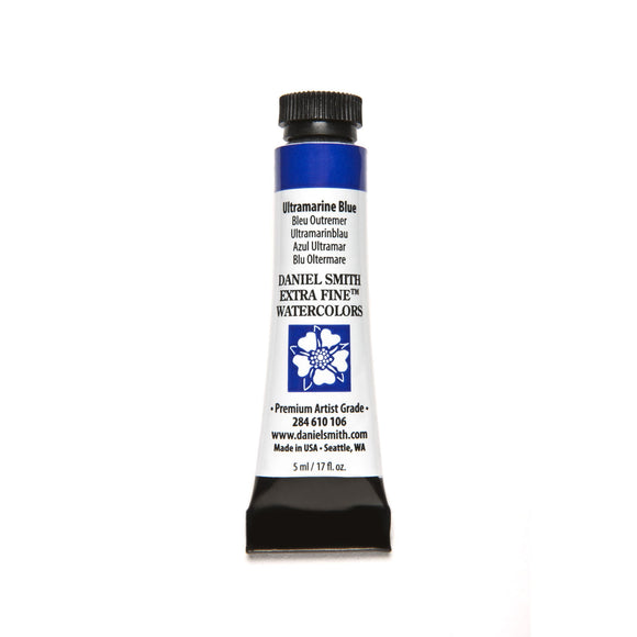 Daniel Smith Extra Fine Watercolor 5mL - Ultramarine Blue