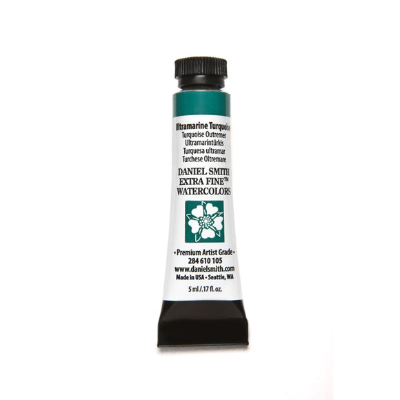 Daniel Smith Extra Fine Watercolor 5mL - Ultramarine Turquoise