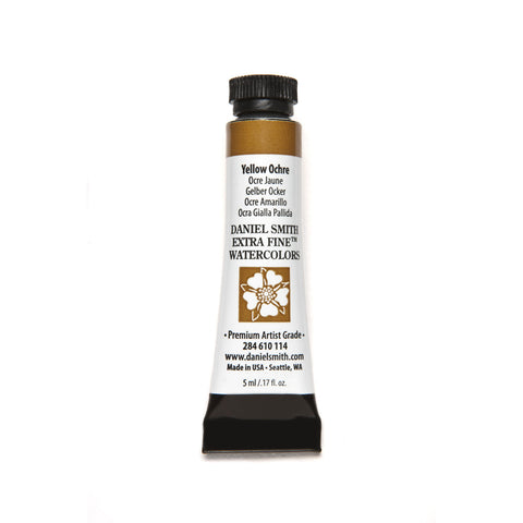 Daniel Smith Extra Fine Watercolor 5mL - Yellow Ochre