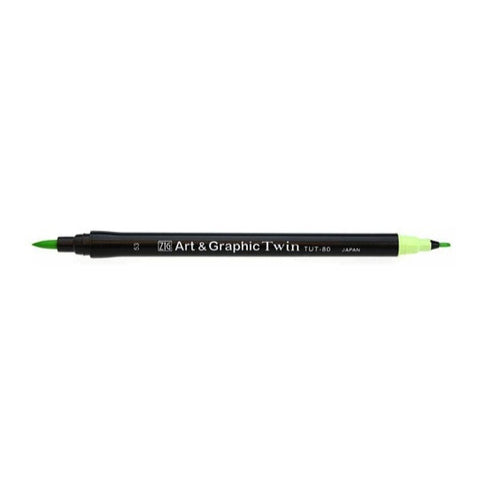 Zig Art and Graphic Twin Marker - Green