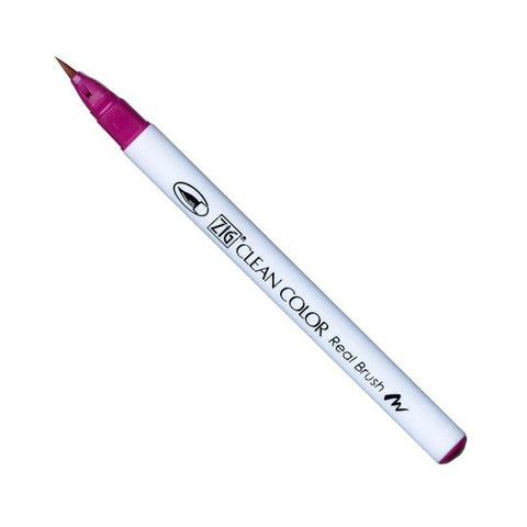 Kuretake Clean Color Real Brush Pen - 027 Dark Pink