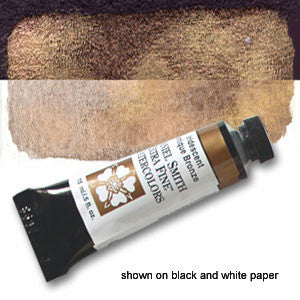 Daniel Smith Luminescent Watercolor 15mL - Iridescent Antique Bronze