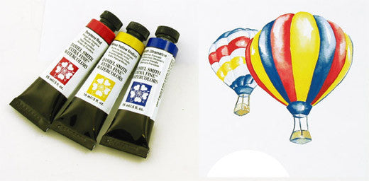 Daniel Smith Primary Watercolor Set - 3 Tubes mL
