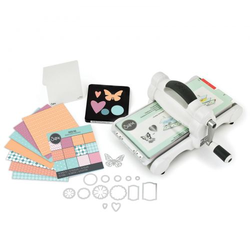 Sizzix Big Shot Starter Kit - White & Gray